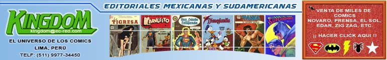 MEXICAN COMICS EDITORIAL NOVARO